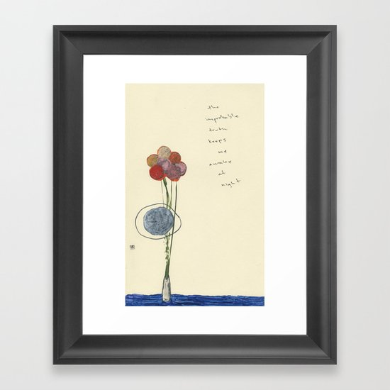 The Improbable Truth Framed Art Print