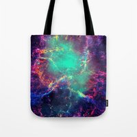 Tote Bags featuring Cave Nebula by Starstuff
