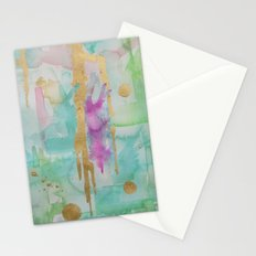 Mint Macaroon Stationery Cards
