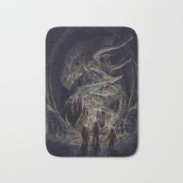 Dead Xenomorph Bath Mat