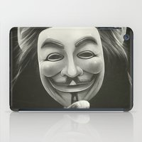 anonymous iPad Cases featuring Anonymous by Dr. Lukas Brezak