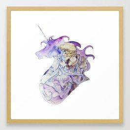 The Last Unicorn - Amalthea and Lir Framed Art Print