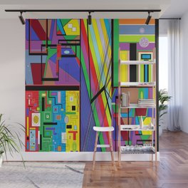 Geometry Abstract Wall Mural