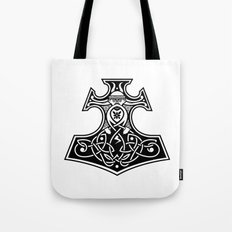 Thor's hammer Tote Bag