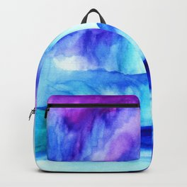Blue Majesty Mountains and Lake Backpack