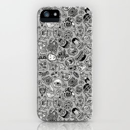 heaps of heads iPhone Case