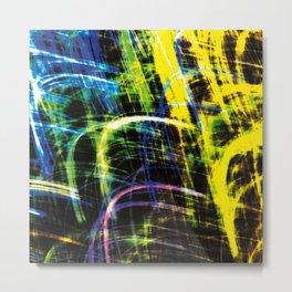 PaintGraph Metal Print