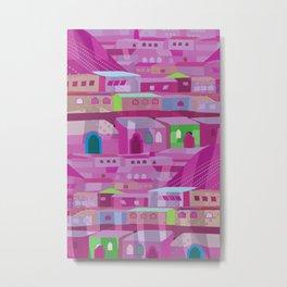Ecatapec in Purple Metal Print