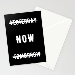 Inspirational - Do It Now! Stationery Cards