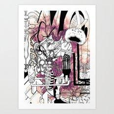 Missing Parts Art Print