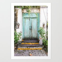 Doorways of the World - Bali Art Print