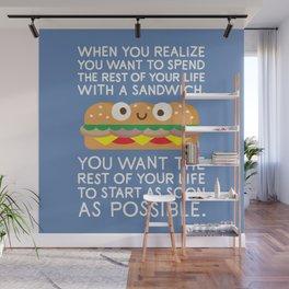 When Harry Met Sandwich Wall Mural
