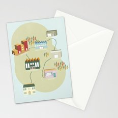 City Travels Stationery Cards