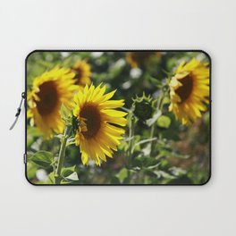 The German Sunflower Laptop Sleeve
