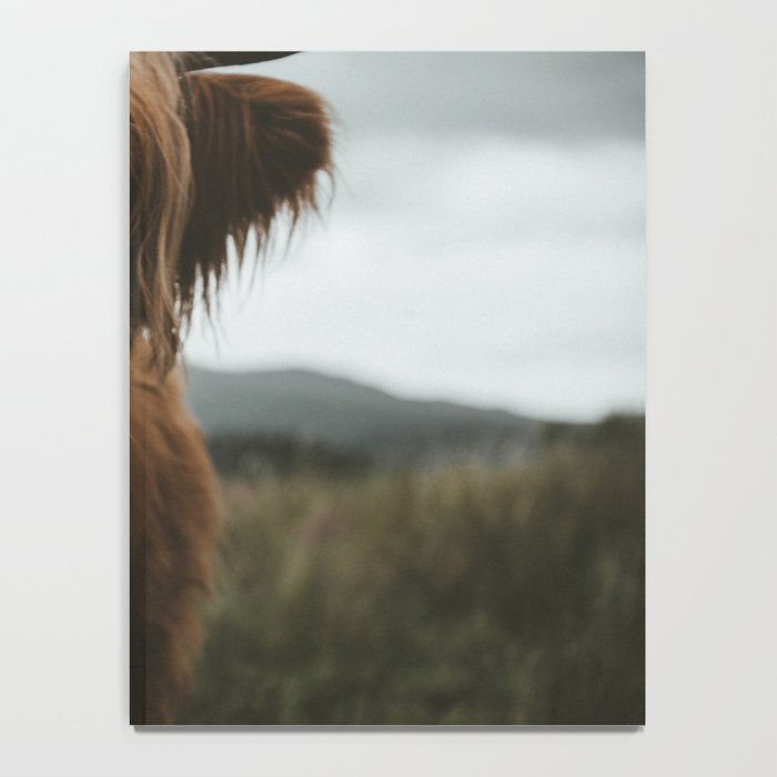 Scottish Highland Cattle Notebook