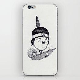 Apache Kid iPhone Skin