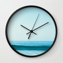 Little Waves Wall Clock