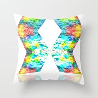 destiny Throw Pillows featuring Destiny by inkko