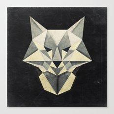 Wandering Wolf Canvas Print