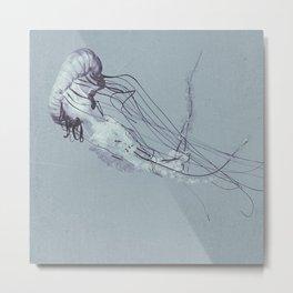 Jellyfish 2 Metal Print