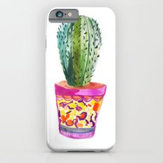 Cactus Watercolour iPhone 6s Slim Case