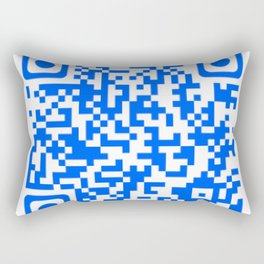 QR Technologie Rectangular Pillow