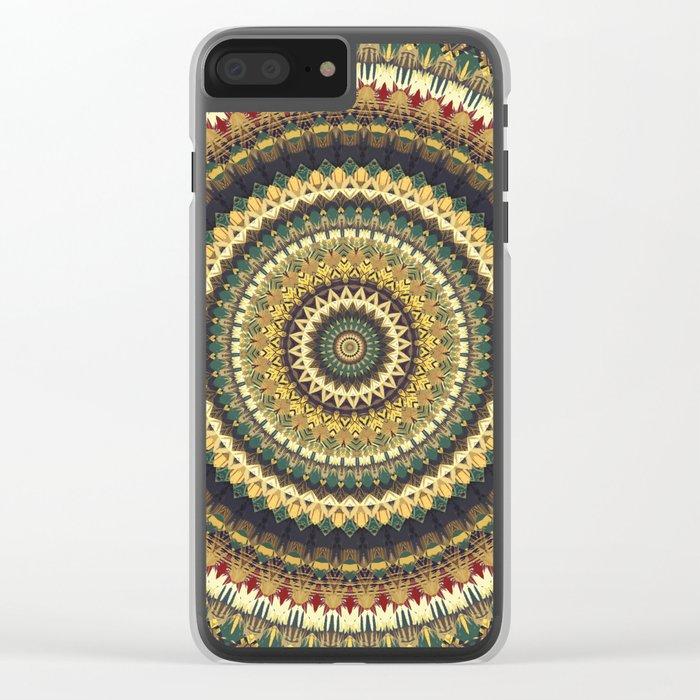 MANDALA DCXLI Clear iPhone Case