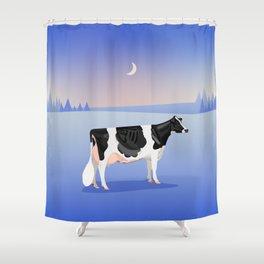 Holstein // Winter Shower Curtain