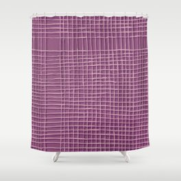 Left - Lilac Shower Curtain