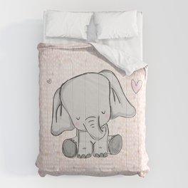 elephant girly cuty Comforters