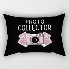 Photo Collector Collection Camera Photographer Rectangular Pillow