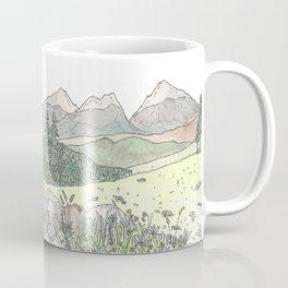 Happy Mountains Coffee Mug