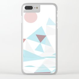 WinterScape  #society6  #buyArt #decor Clear iPhone Case