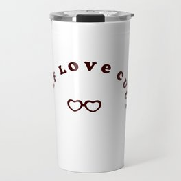 Self Love Cult (red) Travel Mug