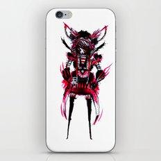 red black 01 iPhone Skin