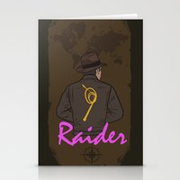 tomb raider Stationery Cards featuring Raider by edgarascensao