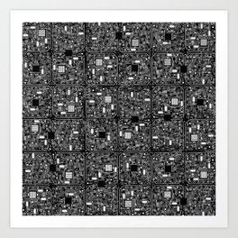 Serious Circuitry Kunstdrucke