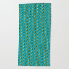 Beer Pattern - Icon Prints: Drinks Series Beach Towel