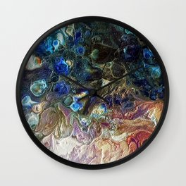 Currents 1 (Abstract Dachshund) Wall Clock