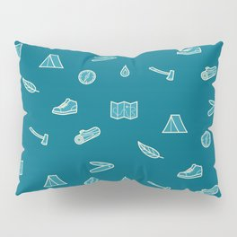 Outdoor Icons Pillow Sham