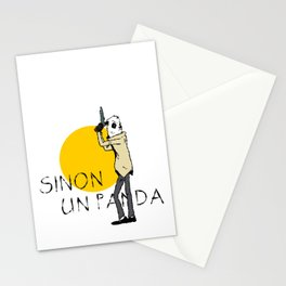 Sinon, un panda (4) Stationery Cards