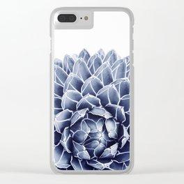 Succulent splendour - chambray Clear iPhone Case