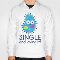 biology Hoodies featuring It's All About Paramecium by David Olenick