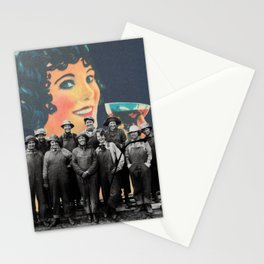 Women's Work - collage by Mackenna Morse Stationery Cards