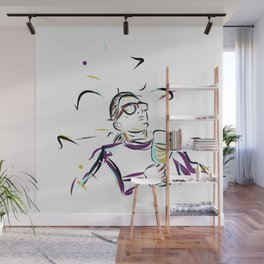 can't you see im LEISURING! Wall Mural
