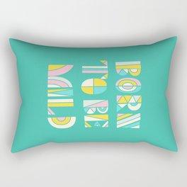 Born to be mild Rectangular Pillow