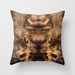 Magma Throw Pillow