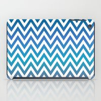 chevron iPad Cases featuring Chevron by David Zydd