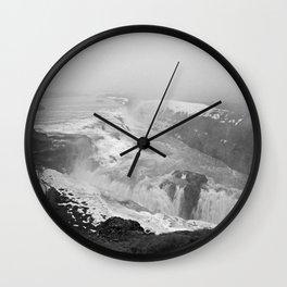 Gullfoss Wall Clock