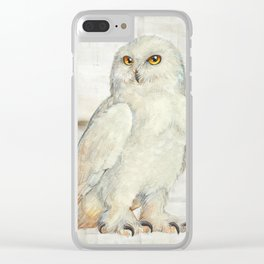 SnowOwl Clear iPhone Case